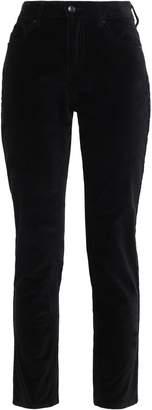 Kate Spade Cotton-blend Velvet Slim-leg Pants