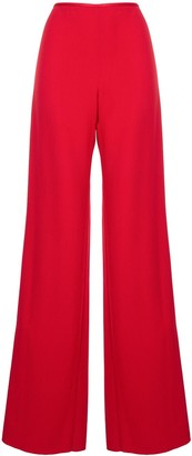 Emporio Armani Wide Leg High Waisted Trousers