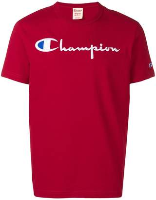 Champion logo patch T-shirt