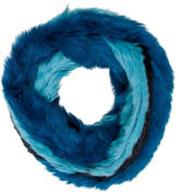 Jocelyn Fur Infinity Scarf w/ Tags