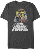 Star Wars Men's Comic Relief Graphic T-Shirt