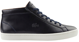 Lacoste Straightset Chukka Leather Trainers, Navy