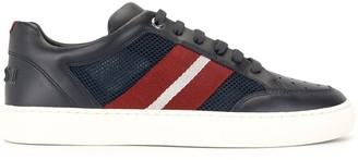 Bally Signature-Stripe Low-Top Sneakers