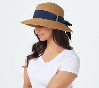 Foster Grant Riviera New York Splitback Scarf Hat