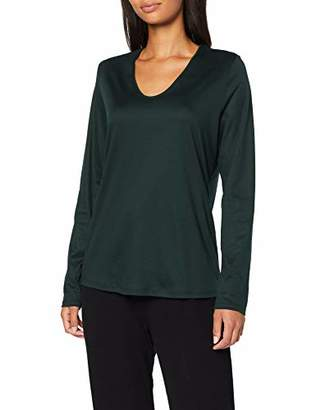 Calida Women's Favourites Trend 5 Pyjama Top, (Dark Lapis 339), L