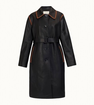 Tod's Trench in Leather