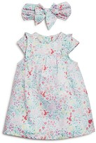3 Pommes Infant Girls' Liberty Print Dress & Headband - Baby