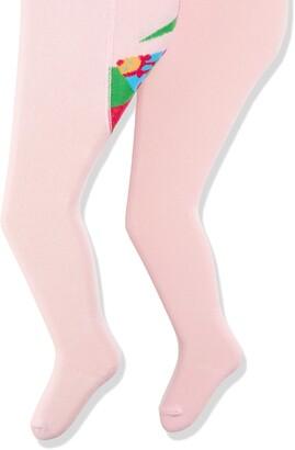 Playshoes Baby Girls' Marienkafer und Unifarben mit Komfortbund Tights