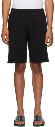 Off-White Black Stencil Arrows Logo Shorts