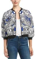 Fate Embroidered Bomber Jacket.