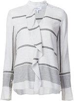 Derek Lam 10 Crosby ruffle detail blouse - women - Polyamide/Viscose/Virgin Wool - 10