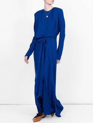 Haider Ackermann Long Fitted Dress