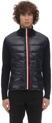 Moncler Tricot Knit Down Jacket
