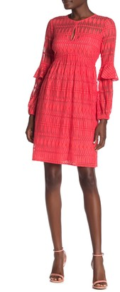 Trina Turk Wynton Long Sleeve Lace Dress