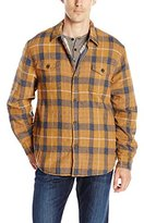 True Grit Men's Summit Baja Plaid Shirt Jacket