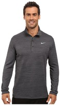 Tiger Woods Golf Apparel by Nike Nike Golf Heather Long Sleeve Polo