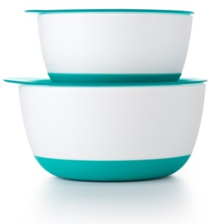 OXO Small & Large Bowl Set with Lids