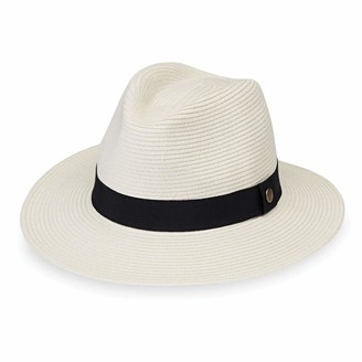 "Wallaroo Hat Company Unisex Palm Beach Hat - UPF 50+ Flexi-Weave 2 3/4"" Brim Travel Friendly Adjustable Fit"