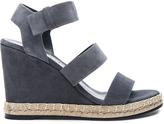 Balenciaga Suede Wedge Sandals