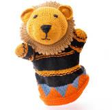 ChunkiChilli Hand Knitted Organic Cotton Lion Puppet