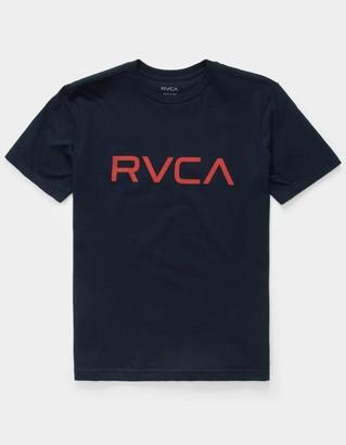 RVCA Big Boys Navy T-Shirt