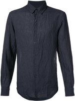 TOMORROWLAND button-up shirt - men - Linen/Flax - M