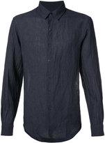TOMORROWLAND button-up shirt - men - Linen/Flax - XL