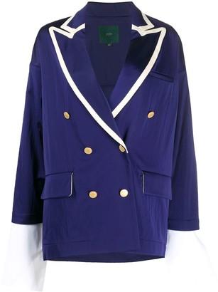 Jejia Double-Breasted Blazer Jacket