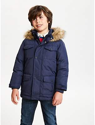 John Lewis & Partners Boys' Core Parka Coat