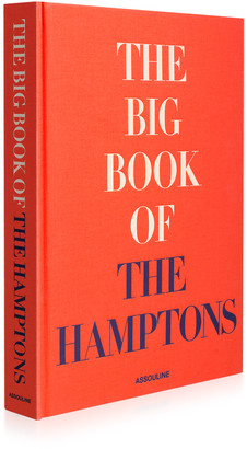 Assouline The Big Book of the Hamptons Hardcover Book