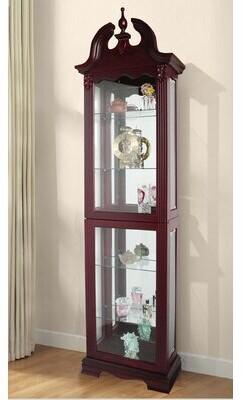 Hamilton Lighted Curio Cabinet Astoria Grand