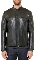 Ted Baker Pablo Leather Jacket
