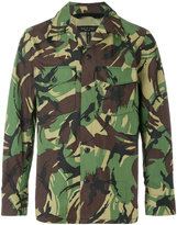 Rag & Bone camouflage shirt jacket