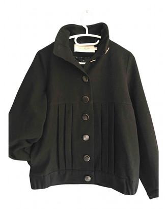 Sessun Black Wool Jackets