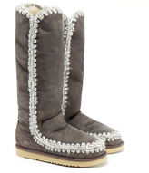Mou Eskimo Grey Tall Boots