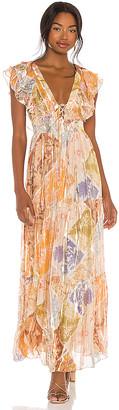 HEMANT AND NANDITA Zoie Maxi Dress