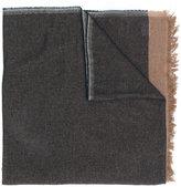 Brunello Cucinelli contrast scarf - men - Silk/Cashmere - M