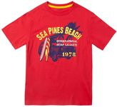 "Chaps Boys 8-20 Sea Pines Beach"" Tee"