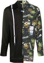 Puma Maison Yasuhiro pineapple-print contrast shirt