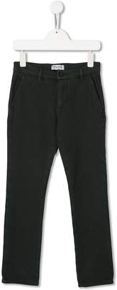Paolo Pecora Kids TEEN mid-rise slim-fit trousers