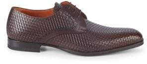 Mezlan Textured Leather Loafers
