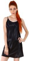 Simplicity Women's Sexy Satin Silk Chemises Slip Dress Sleepwear
