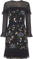 Whistles Nancy Embellished Galaxy Dress