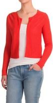 Krimson Klover Grace Bolero Sweater - Linen, Open Front (For Women)