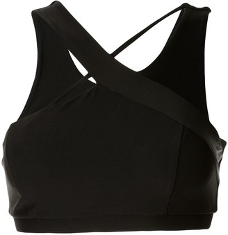 Lanston Sport Soar Asymmetrical Bra(Bra Pads)(As Sampled)