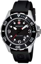 Wenger Men's AquaGraph 1000m 72235 Rubber Quartz Watch with Dial