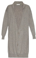 Tomas Maier Shawl-collar cashmere-knit cardigan