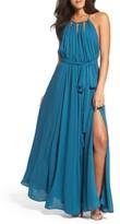 LuLu*s Women's Chiffon Gown