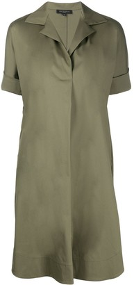 Antonelli Short Sleeve Shirt Dress