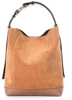 Marni Halo Pod suede shoulder bag